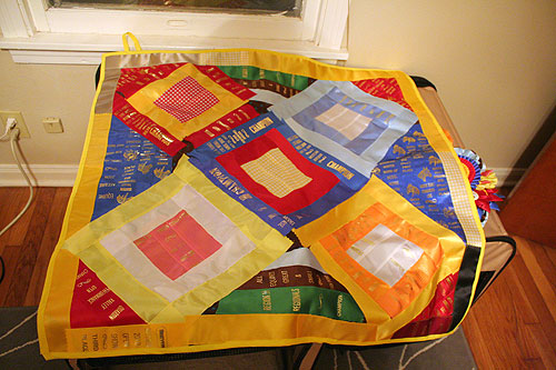 How to make an Equestrian Ribbon Quilt – She Moved to Texas