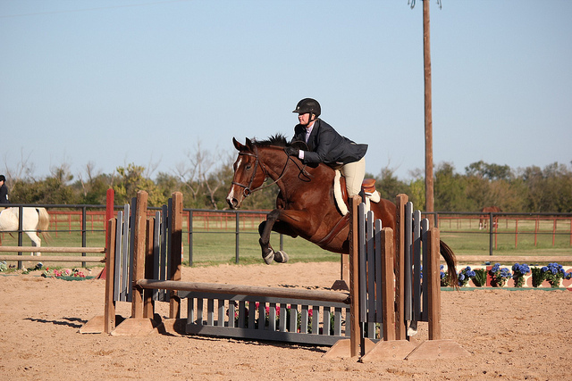 Simon and I at our first show