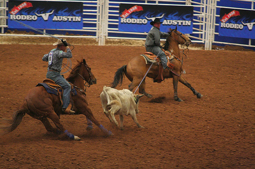 Rodeo Austin Team Roping