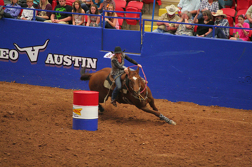 Rodeo Austin Barrel Racing