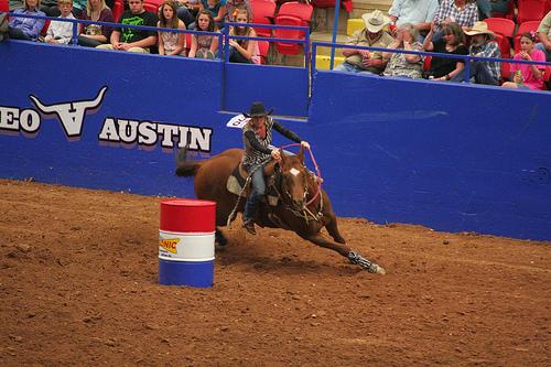 Rodeo Austin Barrel Racing