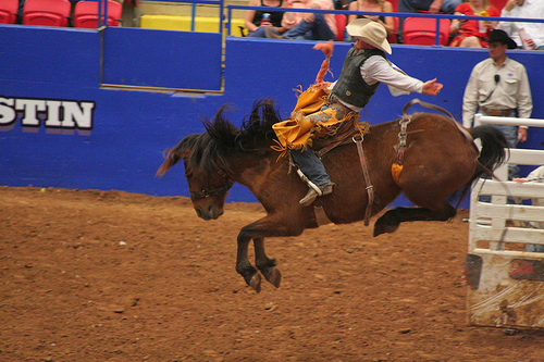 Rodeo Austin Saddle Bronc Riding