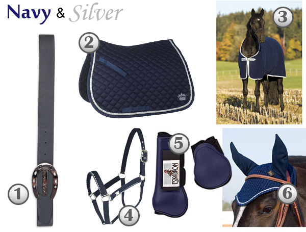 navy-silver-equestrian-products