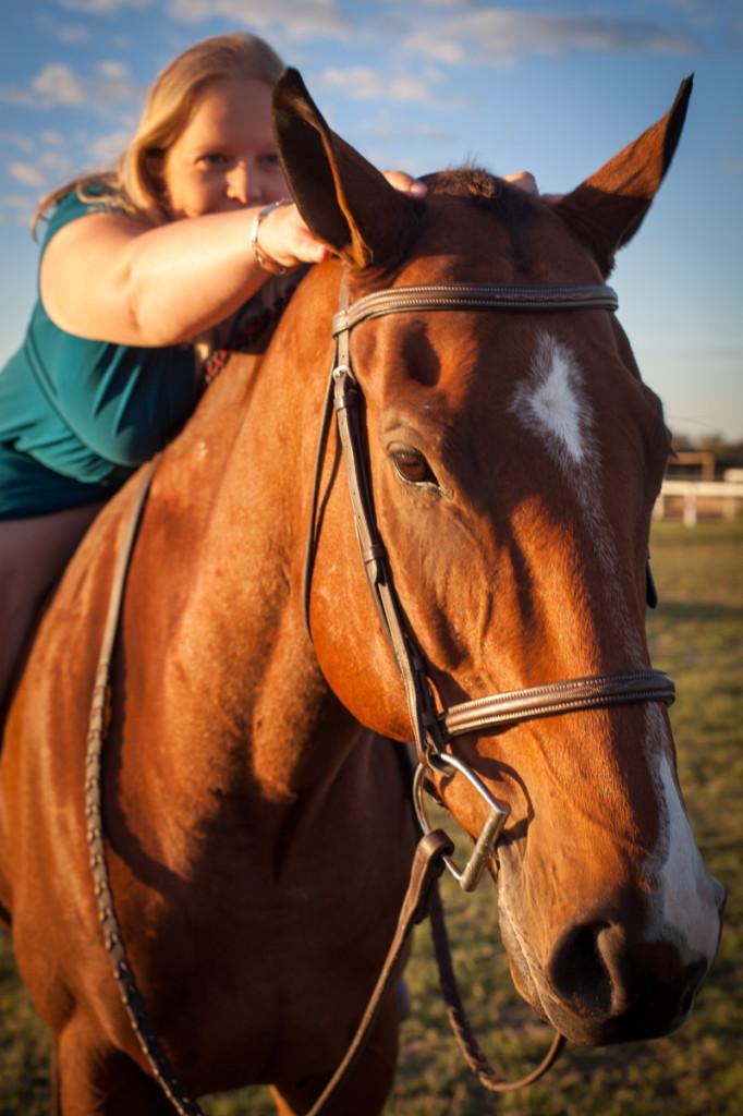 Ears forward you silly horse!