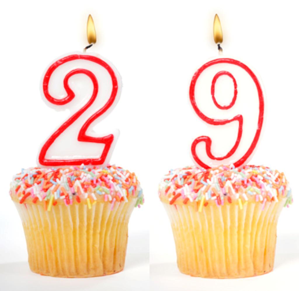 Прикольные поздравления 29 лет
