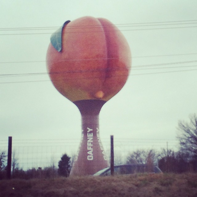 The SC Peachoid