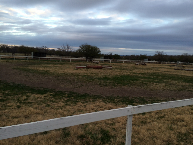 Favorite area to ride at your facility - the grass ring!