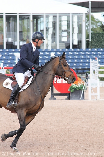 Chris Kappler, US Olympic medalist in show jumping, is quite traditional.