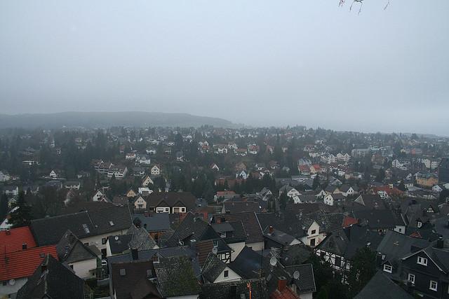 Little town, it's a quiet village...