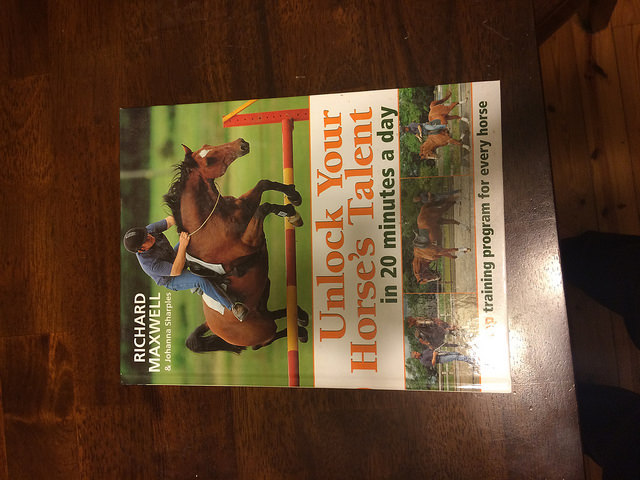 Unlock Your Horse's Potential training book.