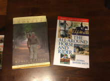 Monty Roberts biography.  The All Around Horse & Rider training book.