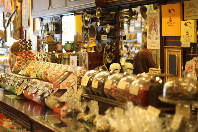 I will take you to this magical candy shop