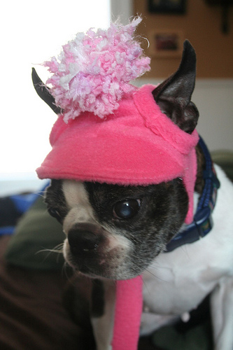 A much younger BT in this hat