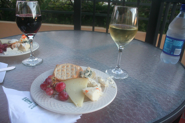 Cheese (and wine)