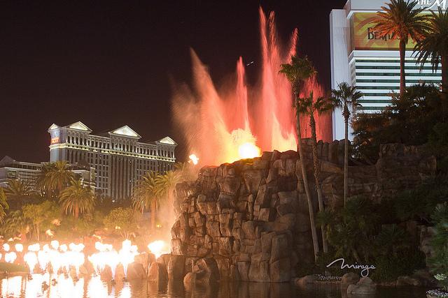 Explosive fire