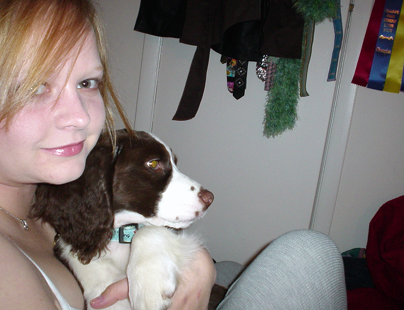 Pre-cell phone selfie with Eliot. Early 2006