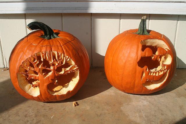 1st pumpkins we carved