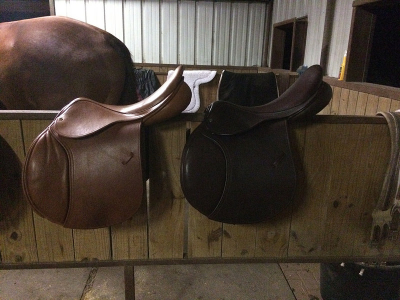 Solution left and Innovation right. The Innovation is the Chestnut Bull hide, which was my favorite color/leather combo
