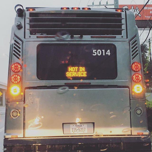 Bus imitates current mood